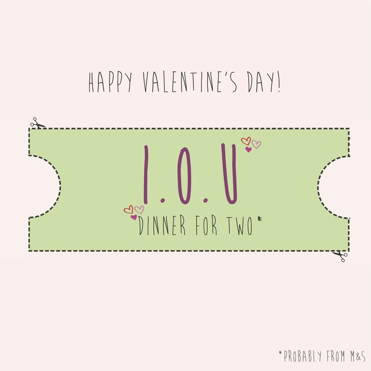 Freebie} Printable Valentineu0027s Day IOU Vouchers - printable vouchers