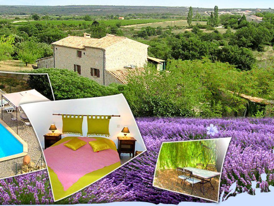 Réservez votre chambre d\u0027hôtes en Sud Ardèche - Proche Pont d\u0027Arc et