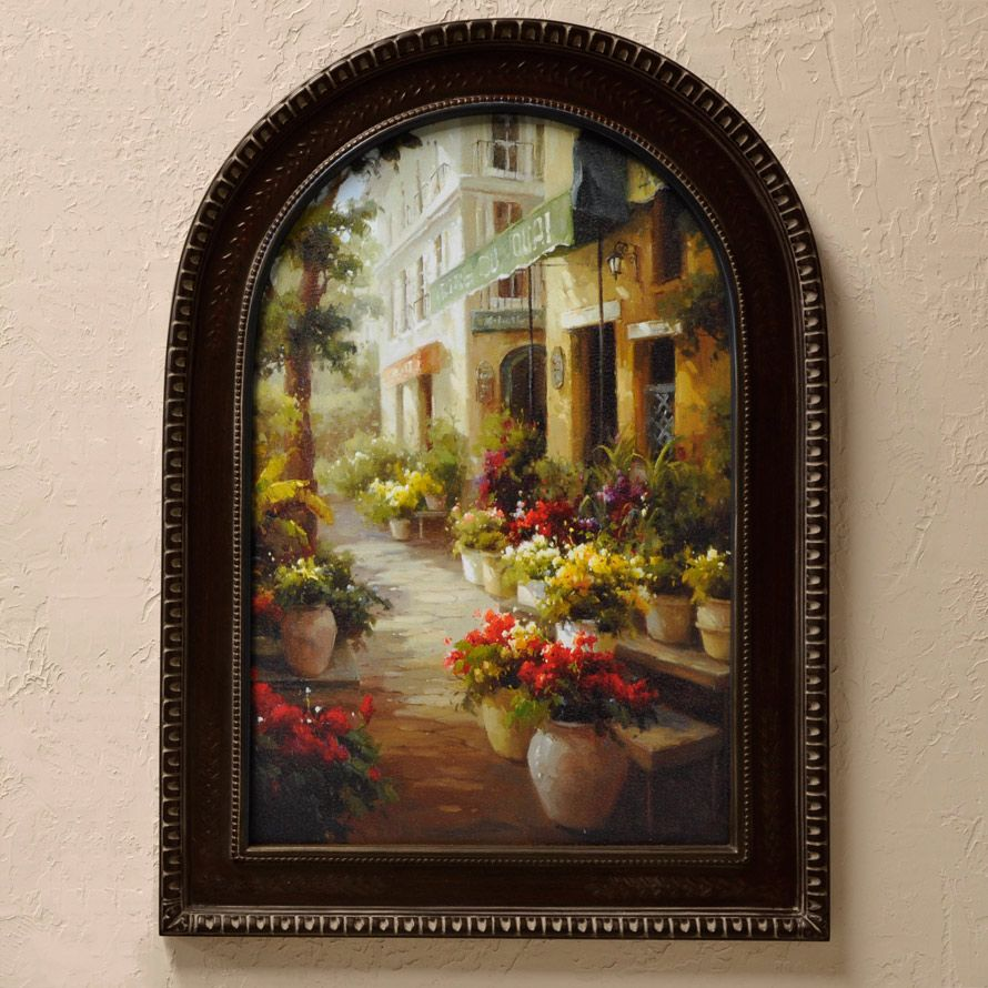 Tuscan Wall Decor Chemin De Fleur'so French Countryfind This Street Of Flowers