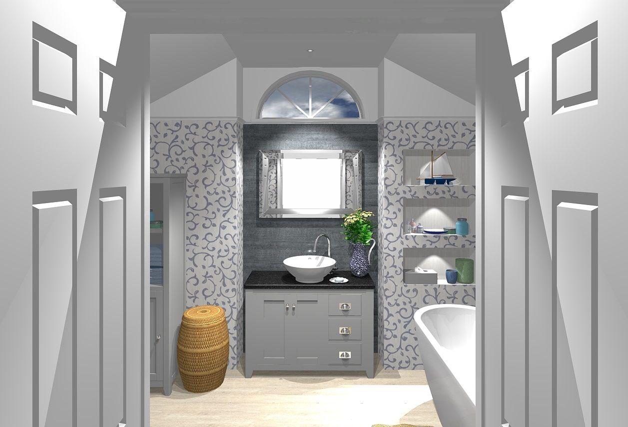 Laura Ashley Bathrooms And Porcelanosa Tiles