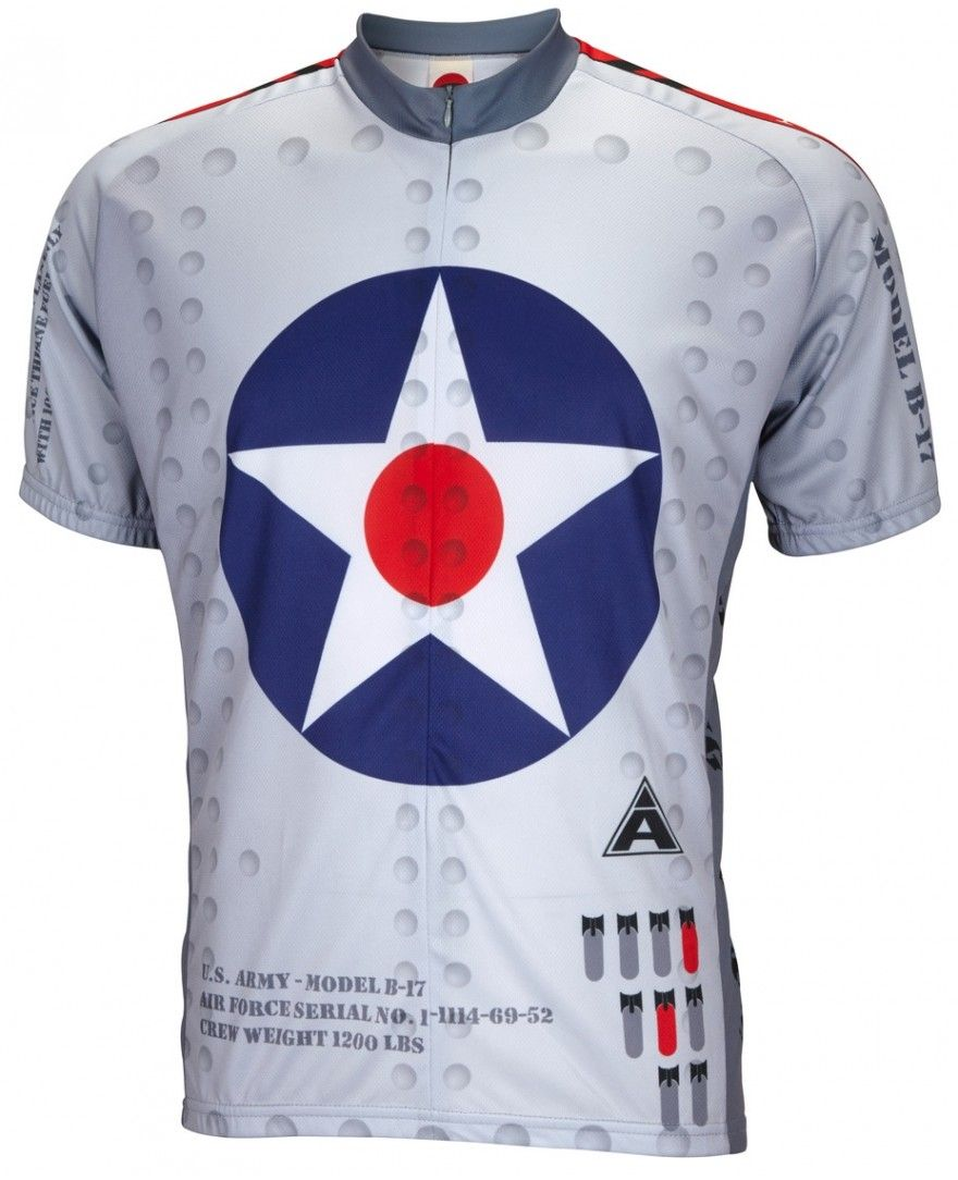B-17 Flying Fortress Cycling Jersey  f9cd1bb5f