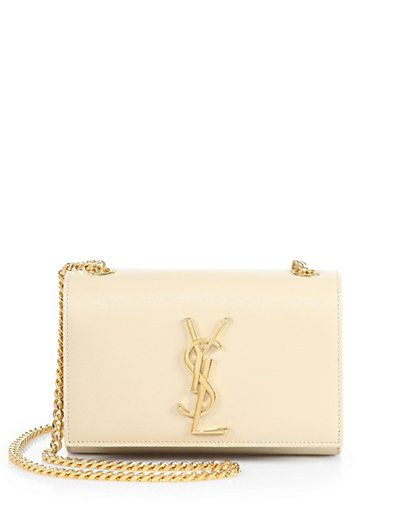 Saint Laurent Monogram Chained Wallet Saks What A Great Small Handbag Ysl Calls It