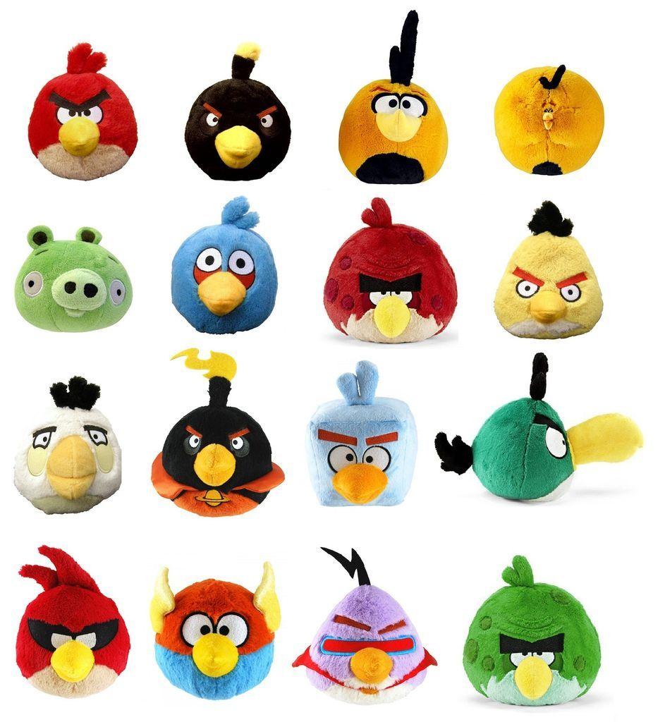 Angry Birds Space Toys : Angry birds plush boomerang bird cosas geniales