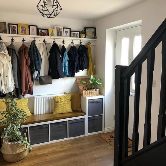 Aménagez votre entrée grâce à ces 15 IKEA HACK !