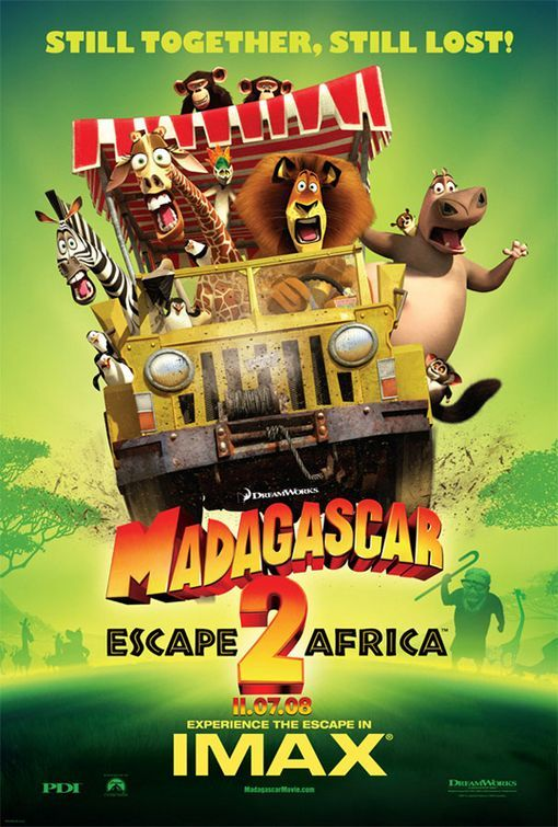 Madagascar Escape 2 Africa Dreamworks Movies Cartoon Movies