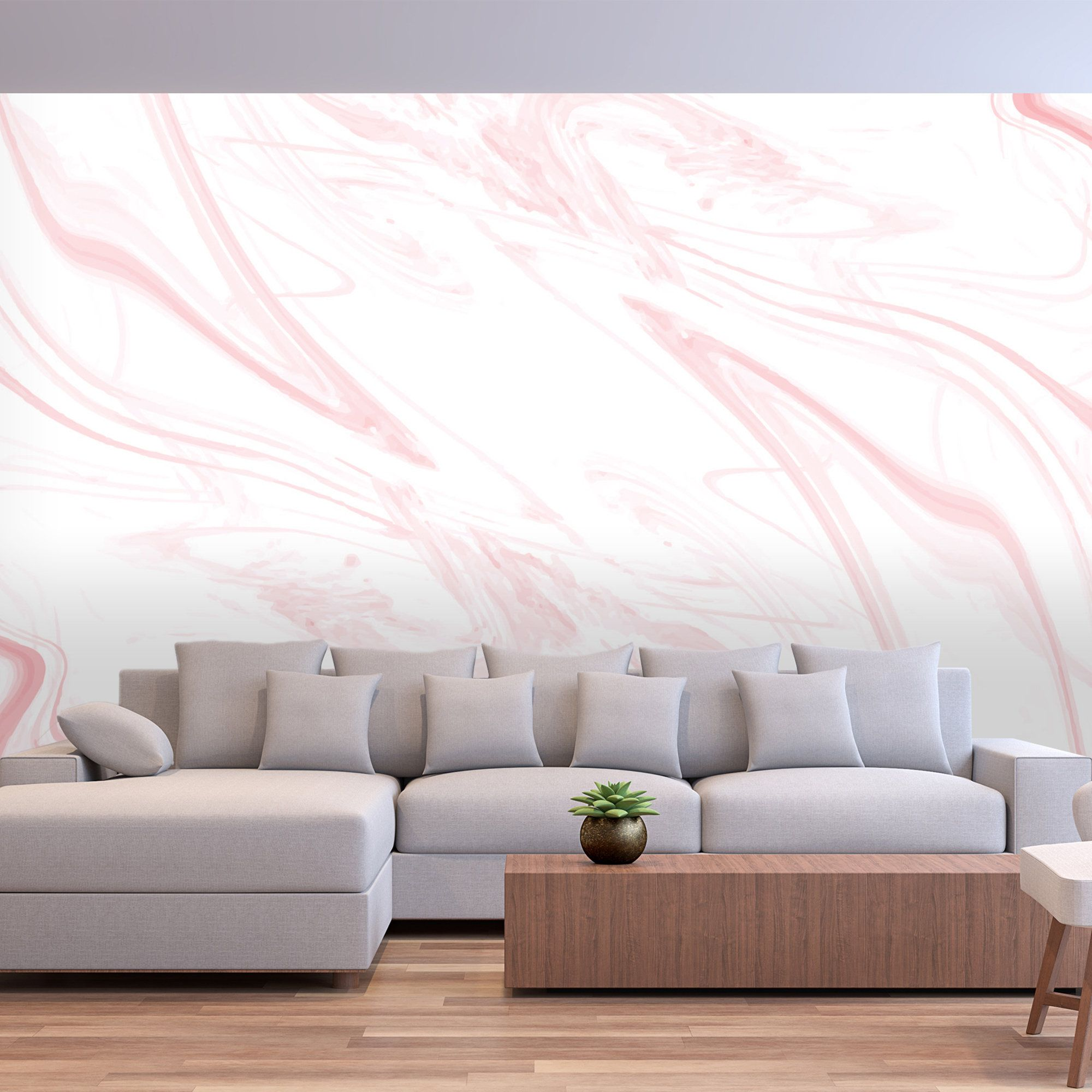 Blush Marble Removable Wallpaper Custom Printed Decorative Etsy In 2020 Removable Wallpaper Marble Decor Wallpaper Pink And White
