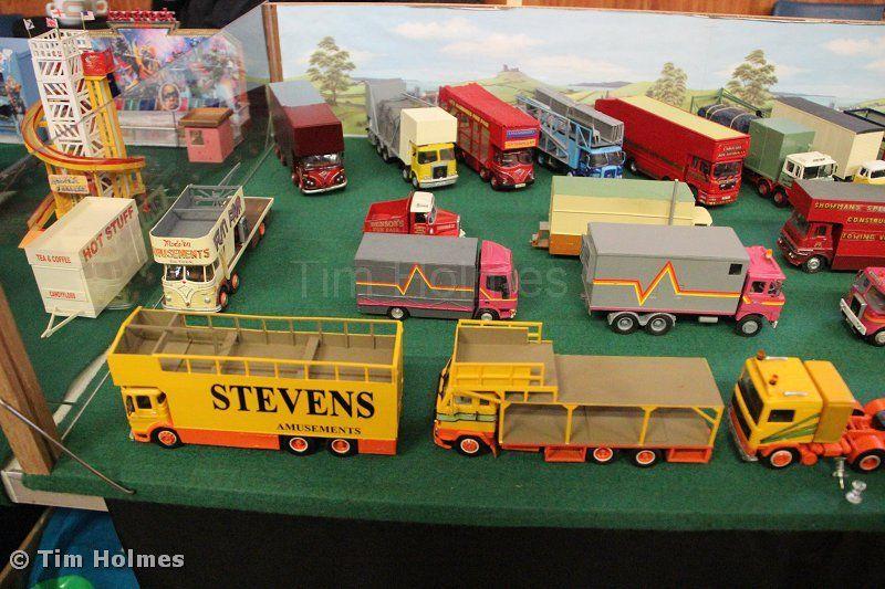 Models Of Fairground Vehicles