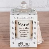Sentiment candle Jar Nana