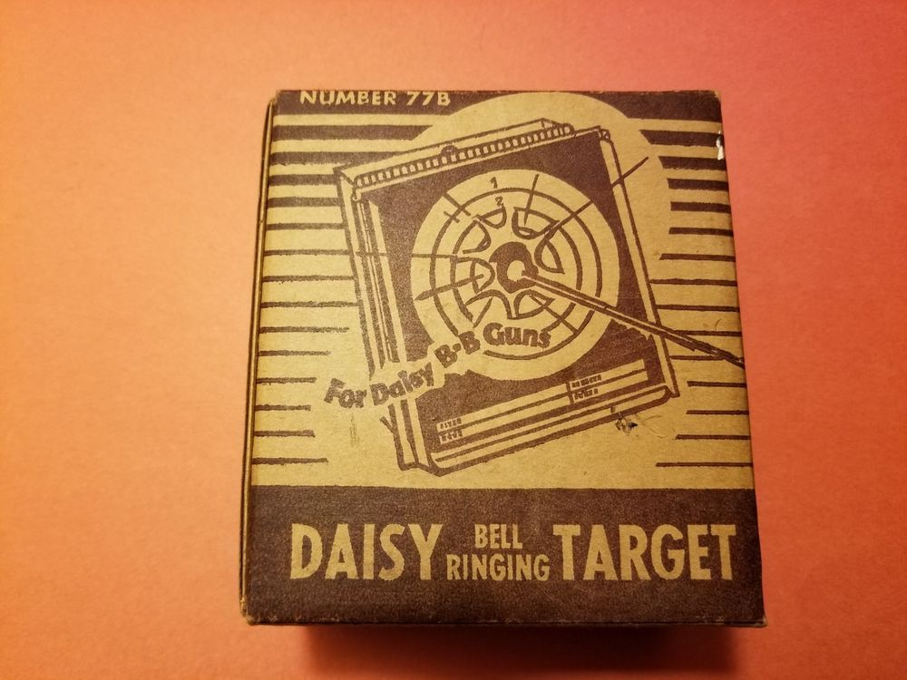 Vintage Daisy Bell Ringing Target 'Mint' in Box with