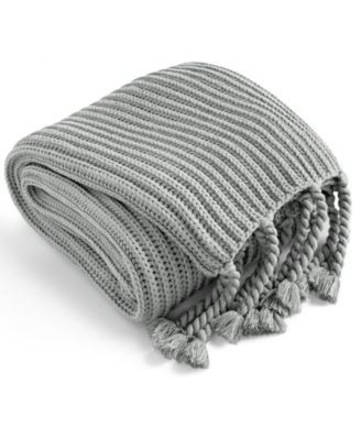 Charter Club LAST ACT Tassel Throw Created for Macy s & Reviews Bedding Collections Bed & Bath Macy s