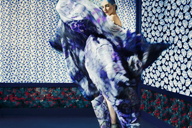 Mary Katrantzou F/W 2011 collection by Erik Madigan Heck for A Magazine [Editorial]