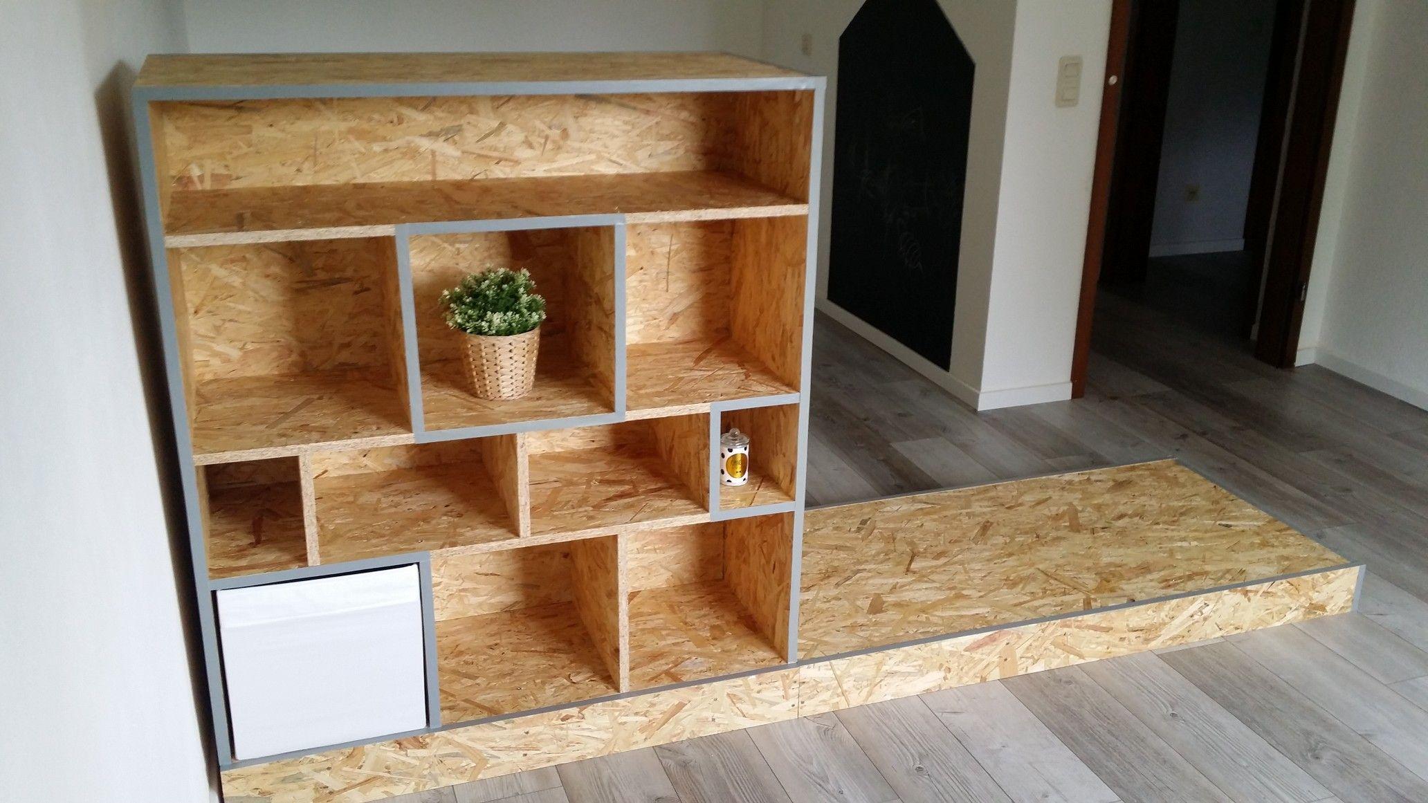 Beautiful Designer Bucherregal Osb Platten Photos - Interior Design ...
