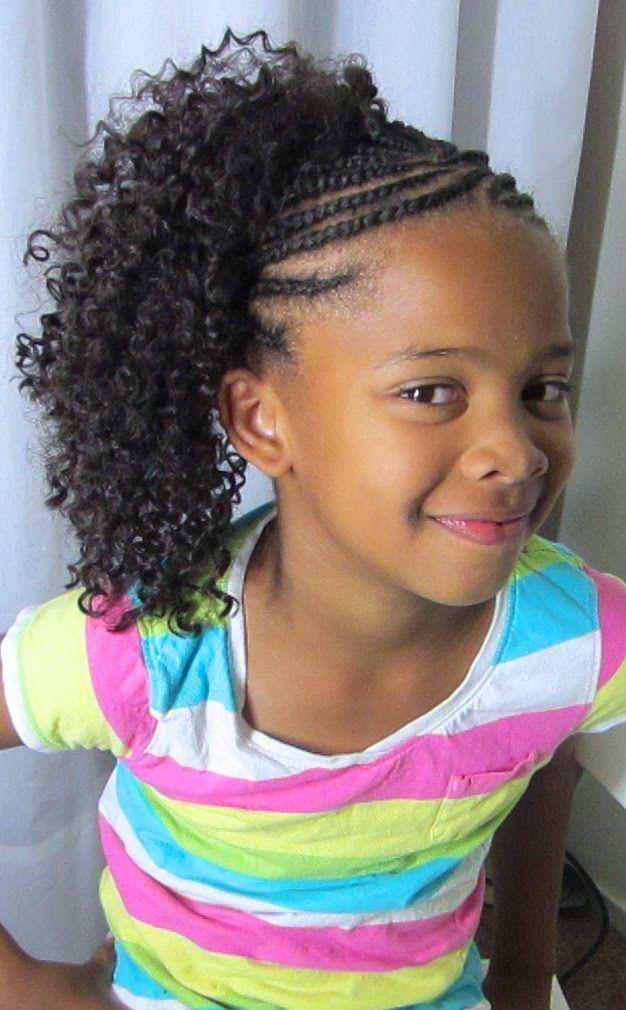 Brilliant 1000 Images About Kids Crochet Braids Amp More On Pinterest Short Hairstyles For Black Women Fulllsitofus