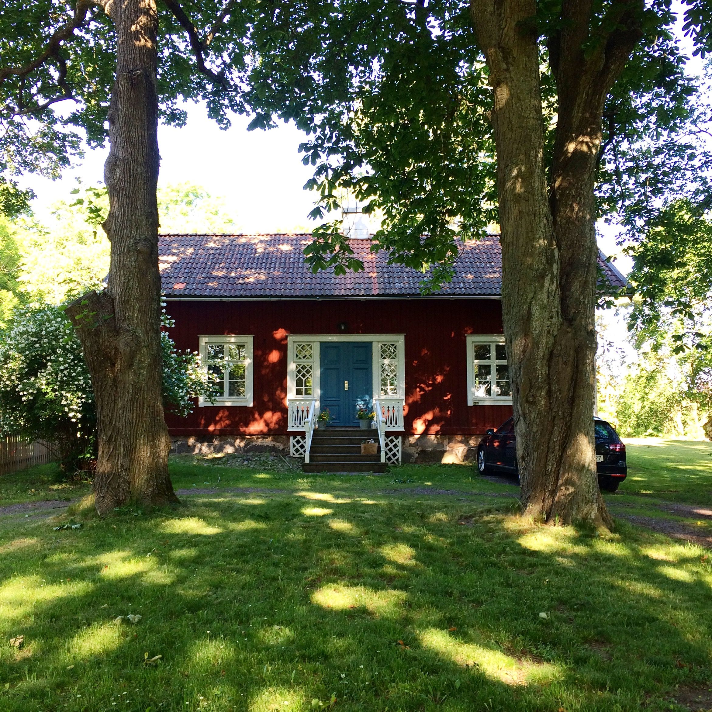 Red cottage in Sweden. My home ❤️