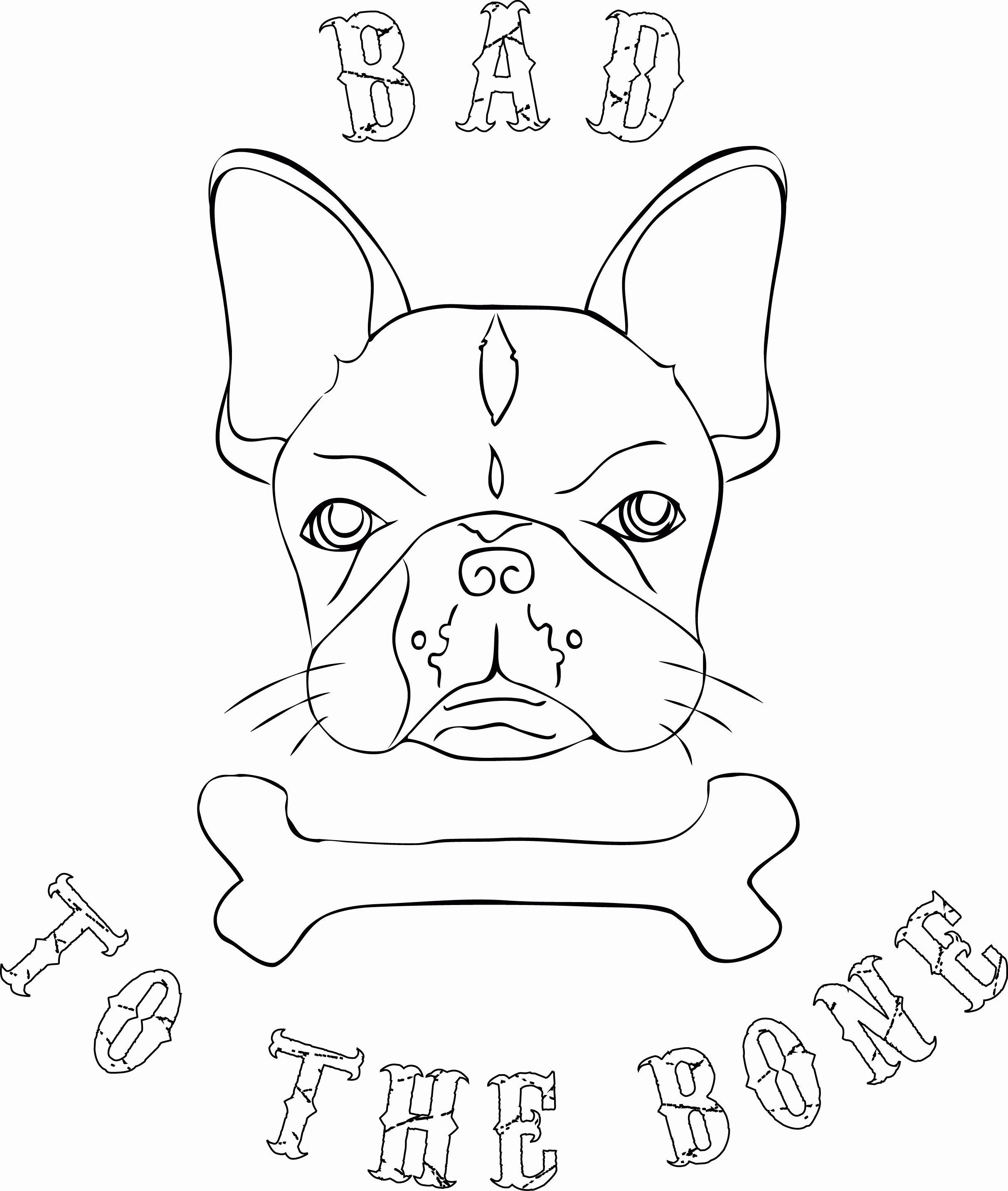 Bull Dog Coloring Page Fresh Bulldog Coloring Pages