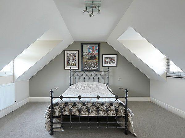 Pin By Huck On House Attic Rooms Attic Bedrooms Attic Bathroom Loft bedroom paint ideas