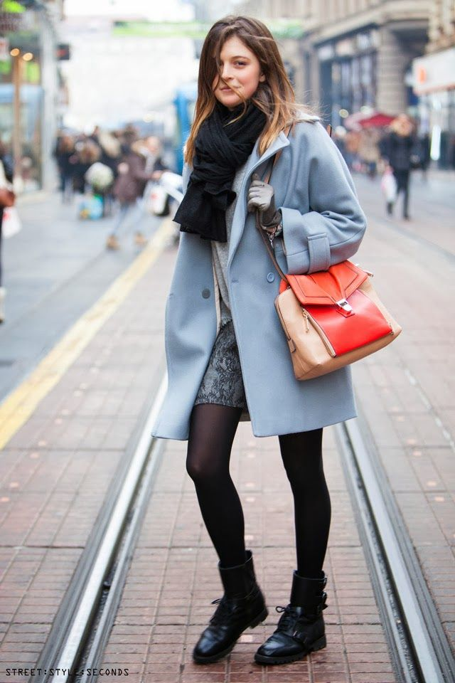 how to style #pastel colors in #winter, #womensfashion