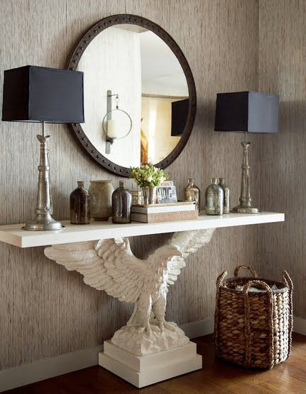 33 Ideas To Use Console Tables In Interior Decorating Shelterness