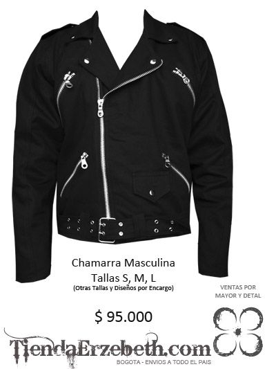 dda9d478d chamarras bogota metaleras masculina medellin hombre rockeras chaquetas  negras…