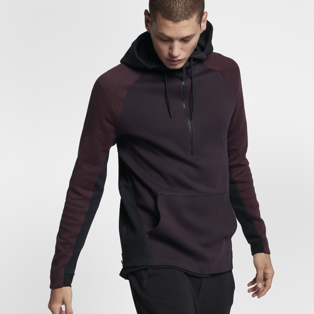 Nike Sportswear Tech Fleece Men's Hoodie Size Medium (Purple)