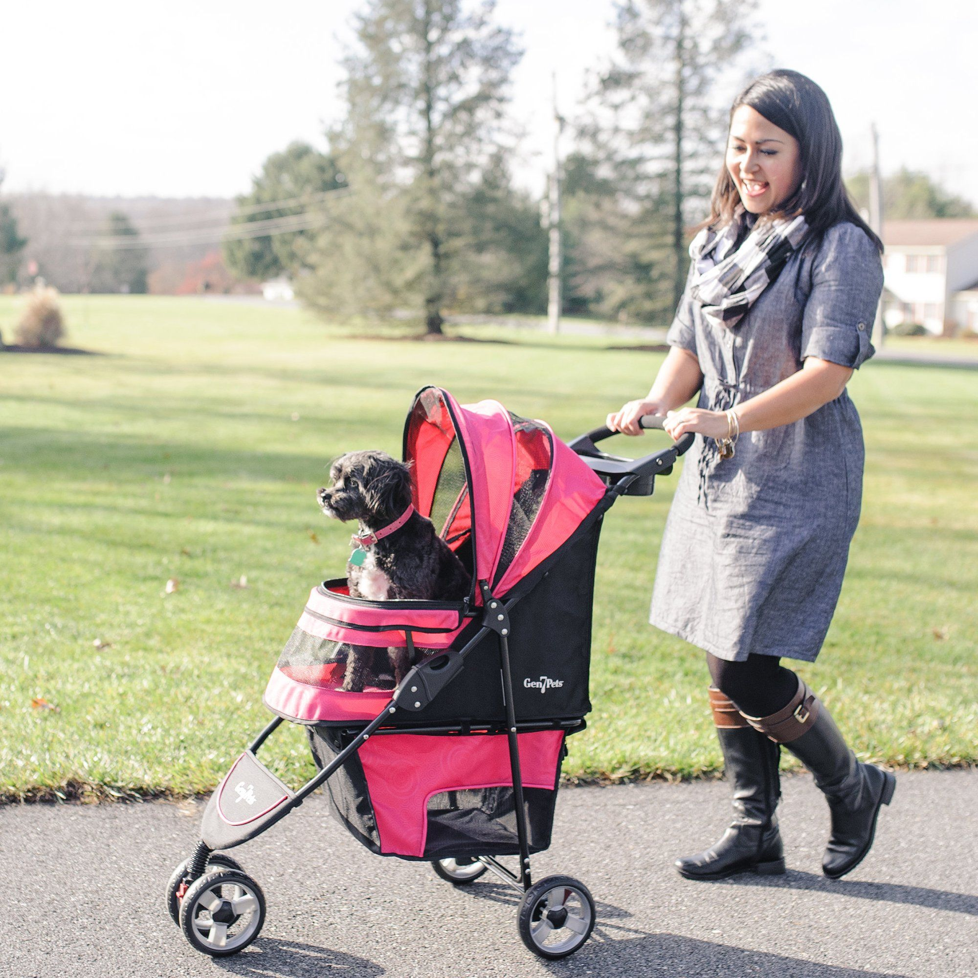Gen7 Regal Plus Pet Stroller for Dogs and Cats â