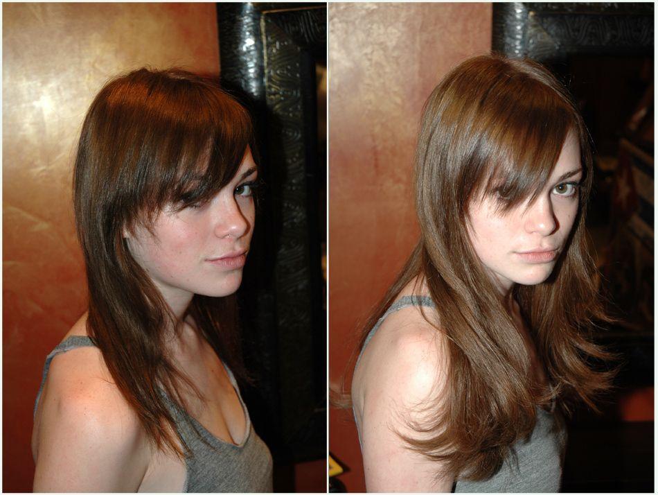 Bien-aimé extensions #cheveux great lengths. Avant après very long #hair  YZ12