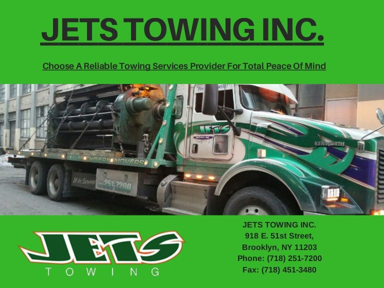 Pin by JETS TOWING INC. on Jets Towing Tow Truck Service