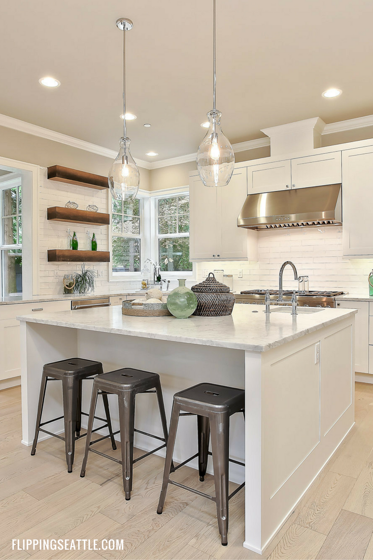 Beautiful kitchen remodel! Learn our home improvement tips and ...