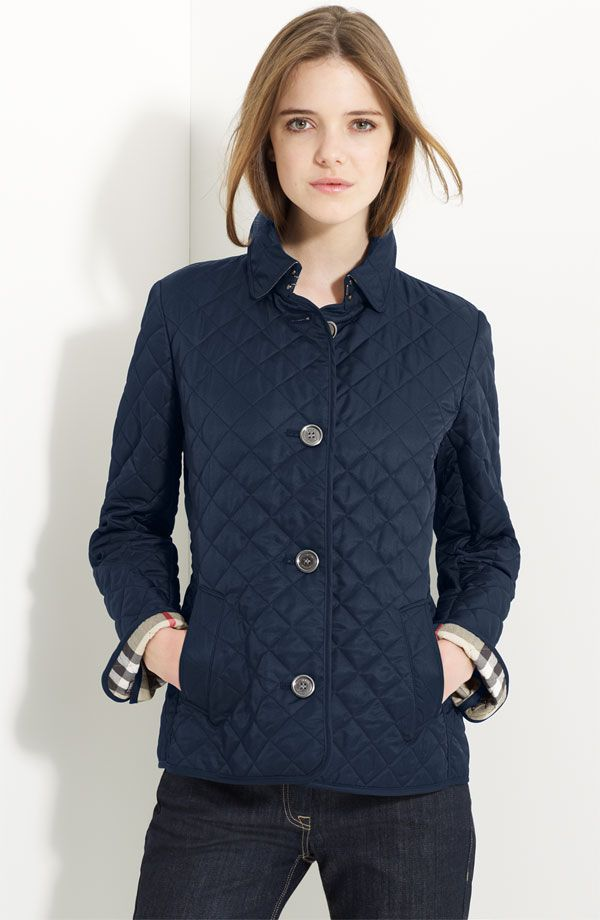 Burberry Brit Copford Quilted Jacket Nordstrom Quilted Jacket Burberry Quilted Jacket Fashion