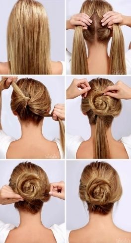 Amazing Easy Hairstyles For Little Girls With Long Hair Download Easy Hairstyles Bun Hairstyles For Long Hair Simple Prom Hair