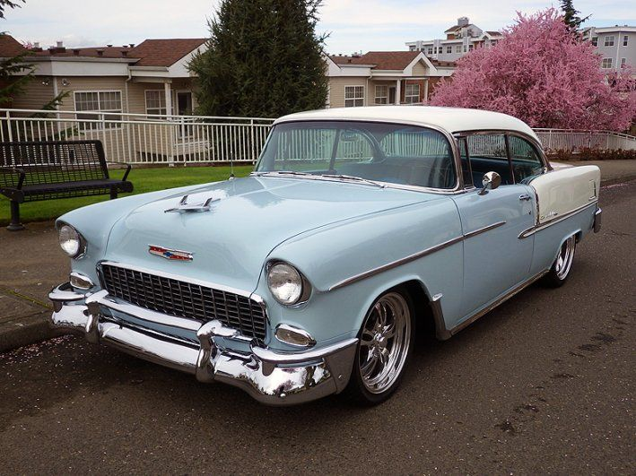 1955 Chevrolet Bel Air 49950 00 Usd Fascinating Body Off Restored