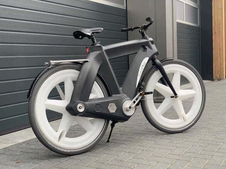 Beim Dutchfiets Bike Wird Mit Dem Kunststoff Ein Sehr