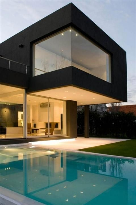 beauty swimming pool modern minimalist houses for the new bride - Minimalist Home Designs