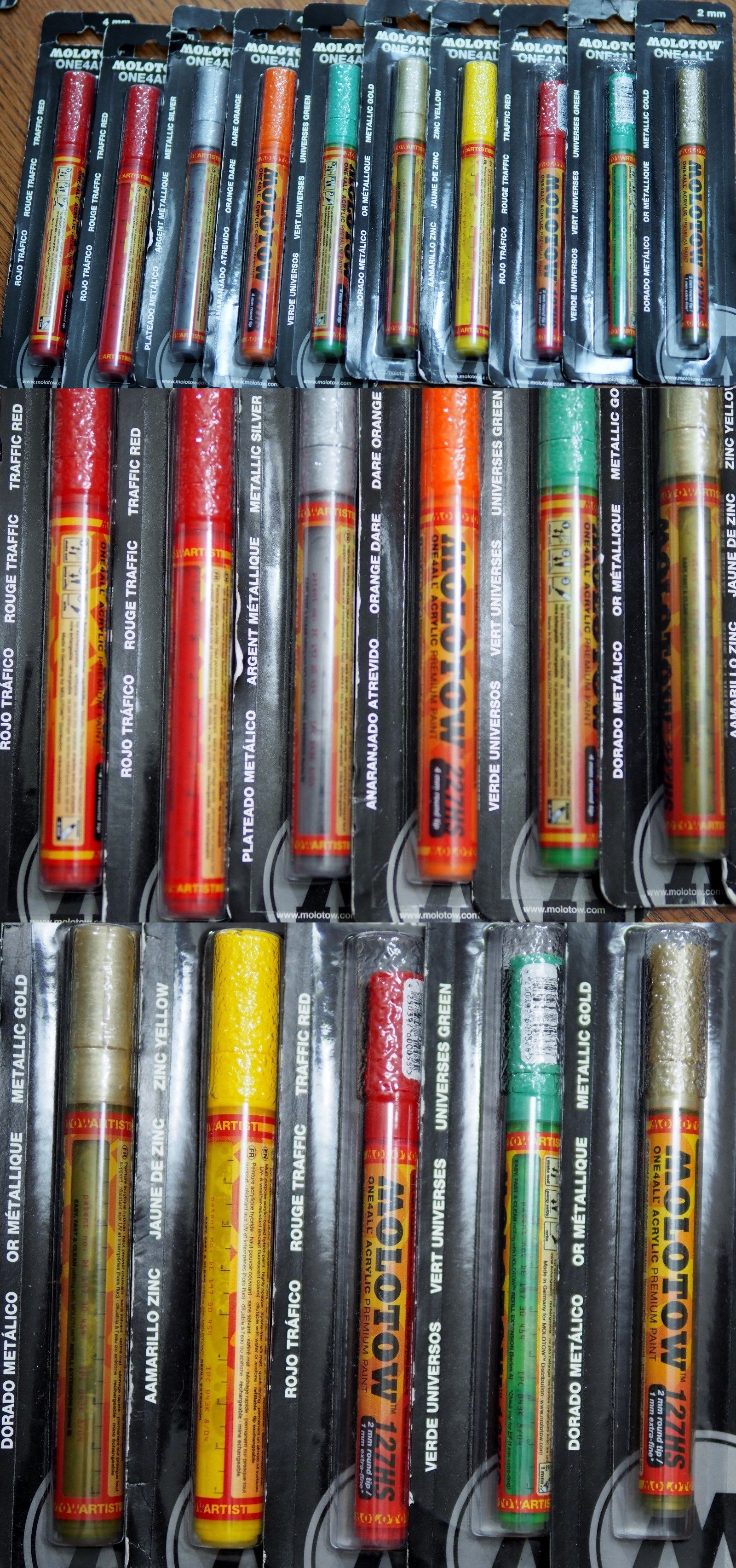 Art Pens and Markers 28109: #1 Molotow Artist Acrylic Paint Markers ...