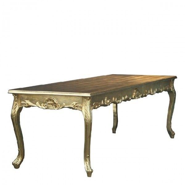 Barock Esstisch Gold 240Cm - Esszimmer Tisch - Sondermodell – Bild