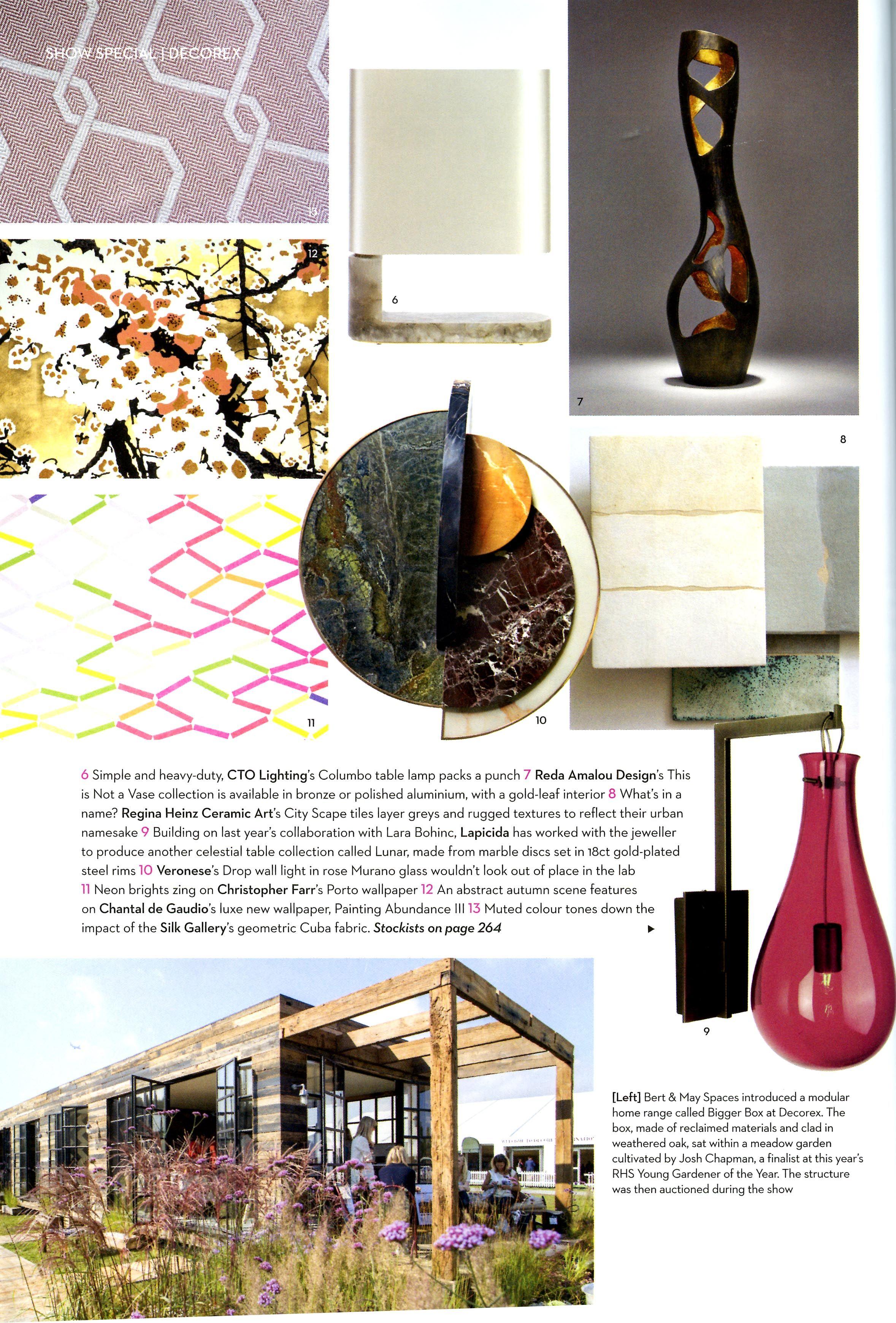 Full moon side table designed by lara bohinc for lapicida homes  interiors also rh za pinterest