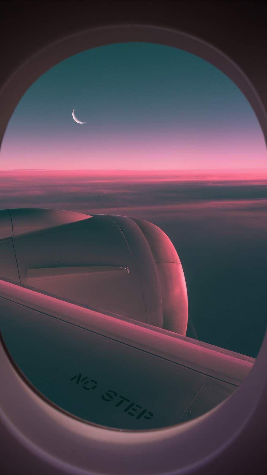 airplane window wallpaper iphone