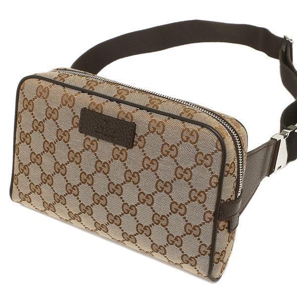 0f6d070529647 Gucci Men s GG Guccissima Small Canvas GG Waist Belt Fanny Pack Bag  Gucci   BeltBag