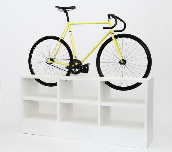 8 | This Furniture Doubles As Beautiful Bike Storage For Tiny Apartments |  Co.Exist