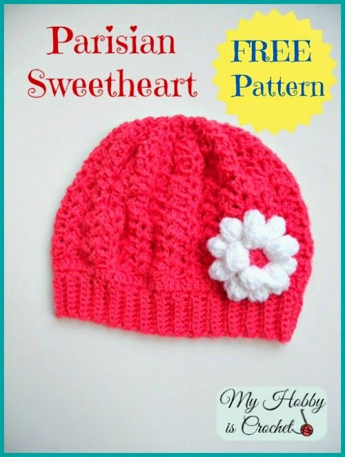 Crochet Toddler Slouch Hat Free Pattern Patterns Pinterest