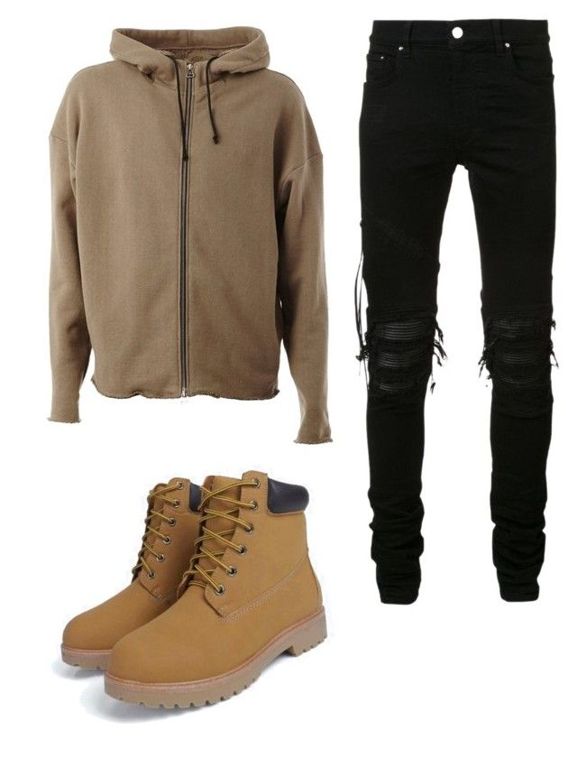 """#contest"" by sofyan866 ❤ liked on Polyvore featuring AMIRI, men's fashion and menswear"