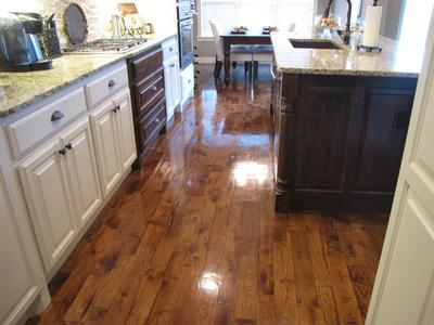 Beautiful Hardwood Floors Shined With Quick Shine Floor Finish