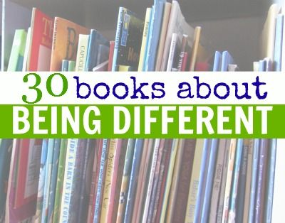 Books About Being Different and Learning To Be Yourself for young kids.