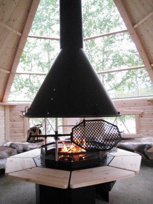kota mit glasdach kitchens dining grillh tte. Black Bedroom Furniture Sets. Home Design Ideas