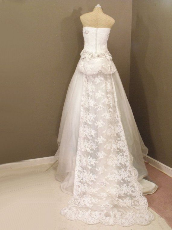 Vintage Givenchy Wedding Dress Back Wedding Dresses Wedding Dress Backs Givenchy Wedding Dress