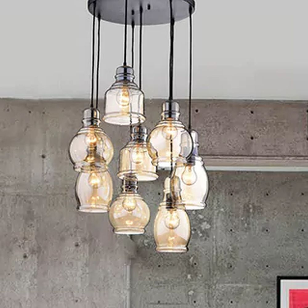 circular light fixture for dining rooms and kitchen areas glass rh pinterest com Casual Dining Room Lighting Fixtures Dinner Room Light Fixtures