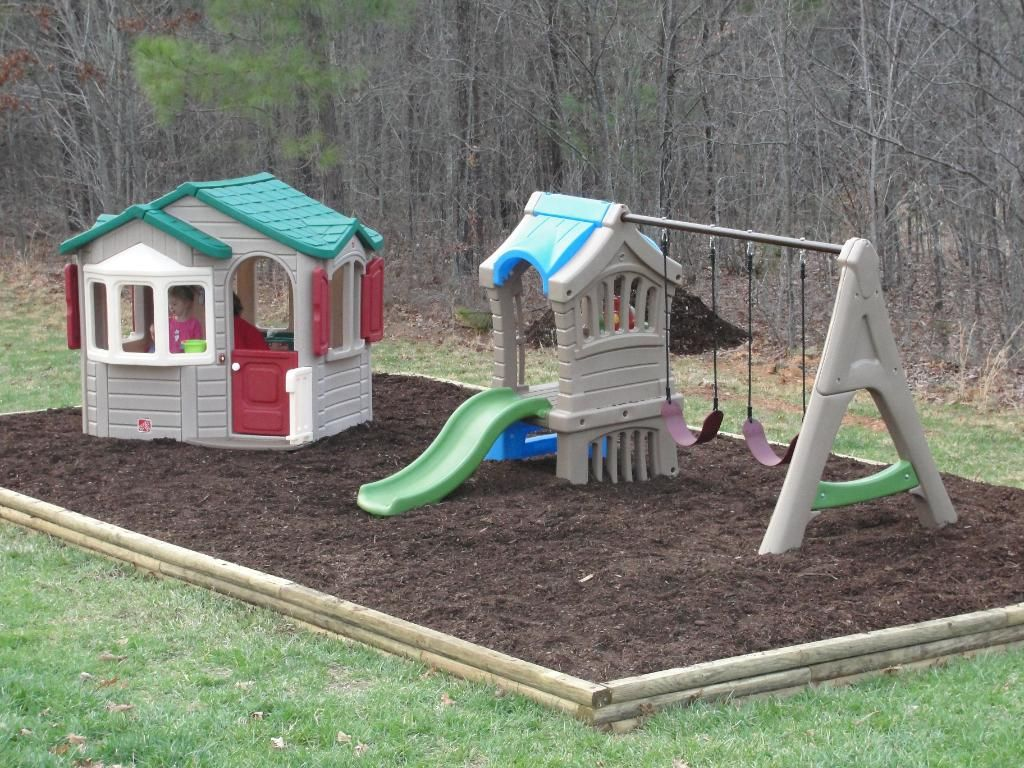 Playground Ideas For Backyard view in gallery Find This Pin And More On Backyard Playground