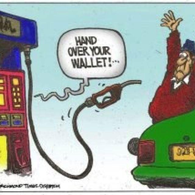 Gas prices Funny cartoons jokes