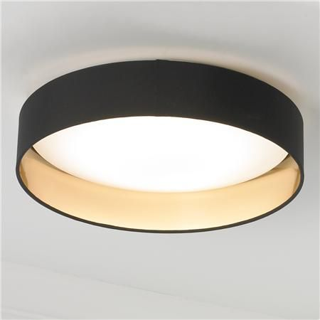 Modern Ringed LED Ceiling Light | Low ceiling lighting