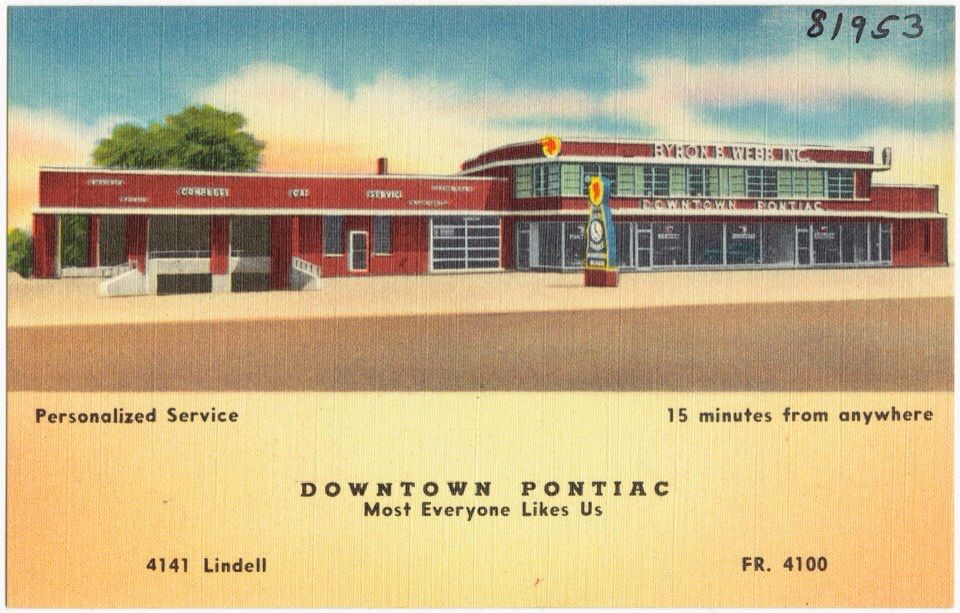 Pontiac Dealer on Lindell. St Louis, MO (With images